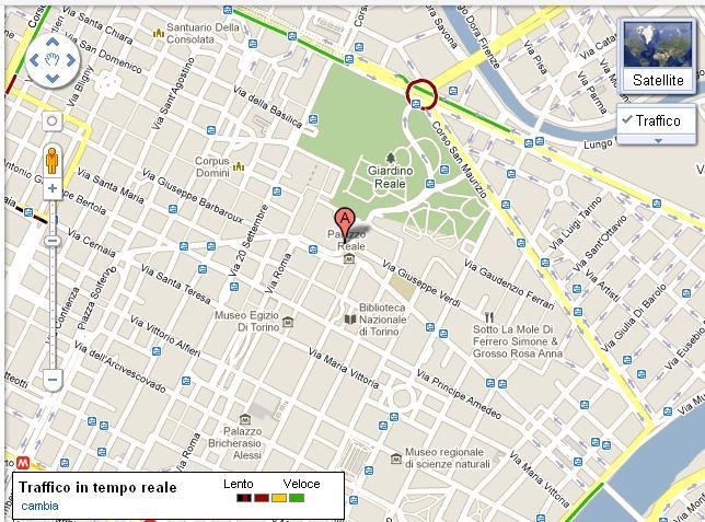 Cartina Italia Google Maps.Google Maps Con Traffic Tempo Reale Anche In Italia