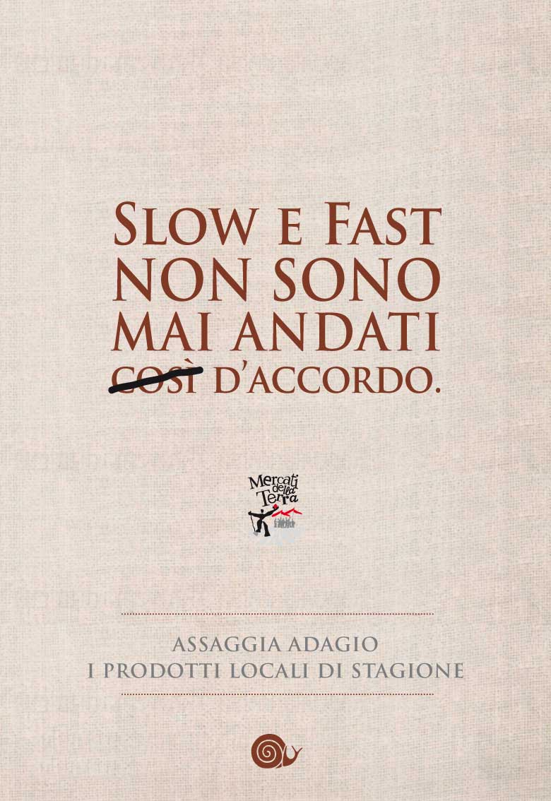 Fast Food Contro Slow Food